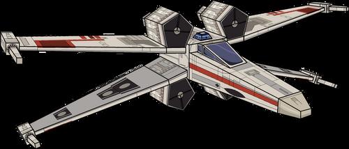 T-65 Ala-X (X-Wing) 3D