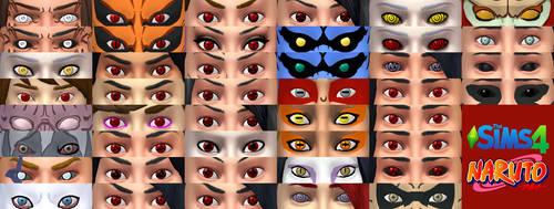 New Version Sims 4 Naruto Eyes
