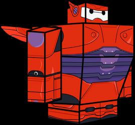 Baymax (Armor) 3D