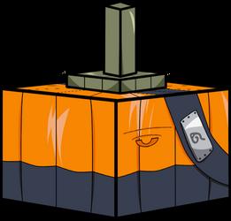 Pumpkin Kakashi 3D