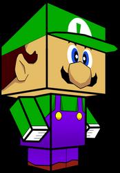 Luigi (Super Smash Bros) 3D