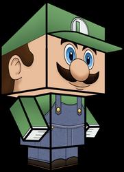 Luigi (Super Smash Bros Brawl) 3D