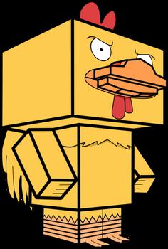 Ernie the Giant Chicken 3D