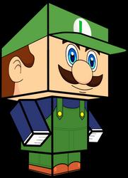 Classic Luigi (Mario Kart Tour) 3D