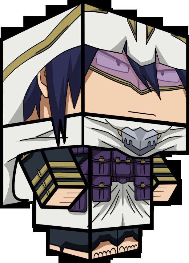 Tamaki Amajiki (Hero) 3D