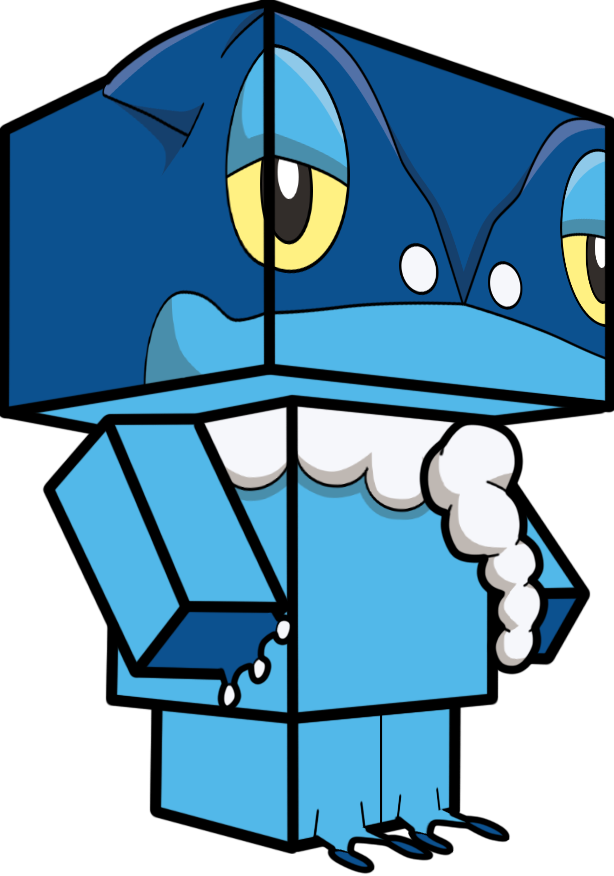 Frogadier 3D