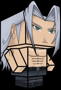 Sephiroth (Dissidia Final Fantasy) 3D