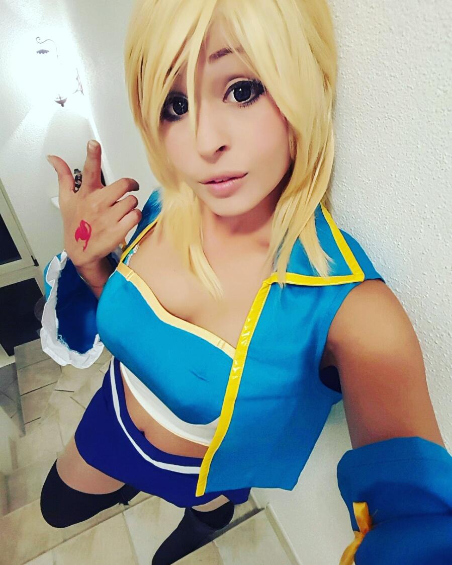 Lucy Heartfilia cosplay by ValeChanCosplay on DeviantArt