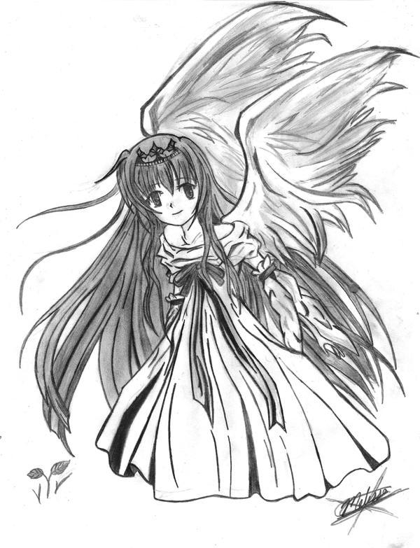 Angel - Tenshi by Inuyasha-no-e on DeviantArt