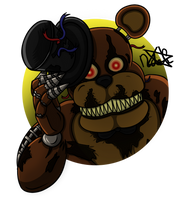 Nightmare Freddy by DemiAmuca