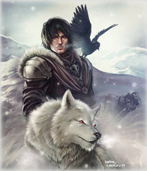 Lord Snow by Dr-Salvador