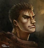 Gatsu - Berserk by Dr-Salvador
