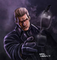 Albert Wesker by Dr-Salvador