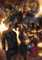 Resident Evil 6 by Dr-Salvador