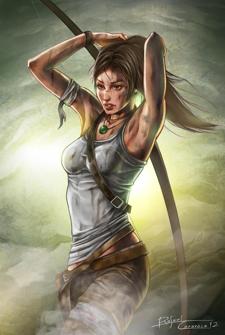 Lara Croft Reborn by Dr-Salvador