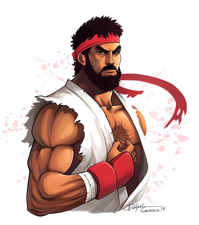 Ryu - Near Future by Dr-Salvador