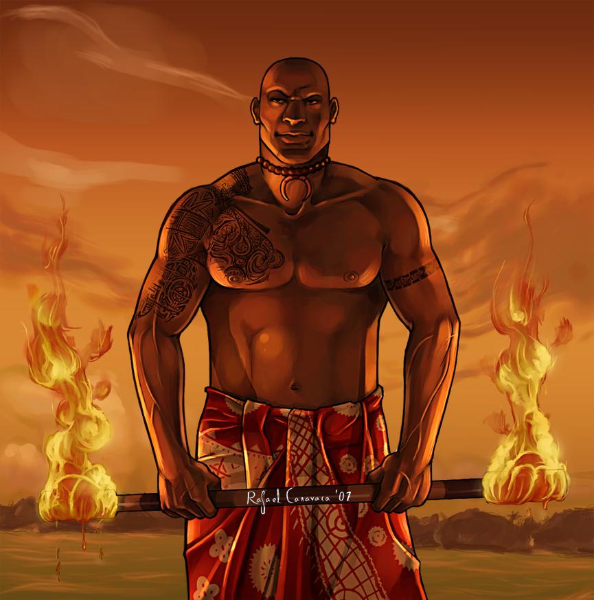 Samoan fire by Dr-Salvador