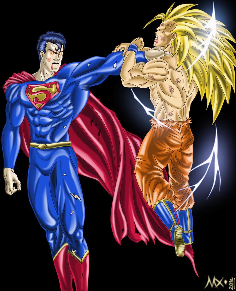 goku ssj3 vs superman - photo #38
