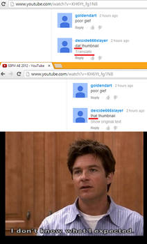 THATS THE ONLY BRIGHT SIDE ON YOUTUBE!?