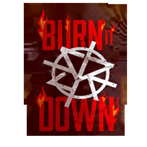 seth rollins burn it down logo render by mashupgfx on deviantart