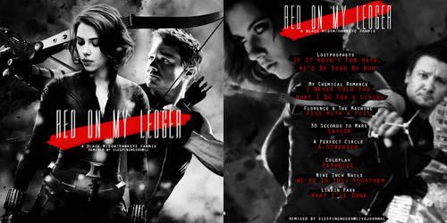 Red on My Ledger - a Black Widow+Hawkeye fanmix by LadyKappa