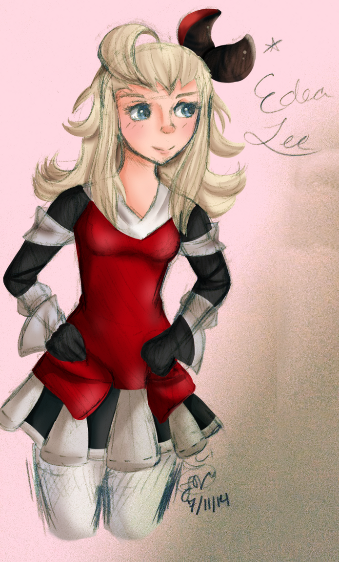 Edea Sketch by Rin-luver