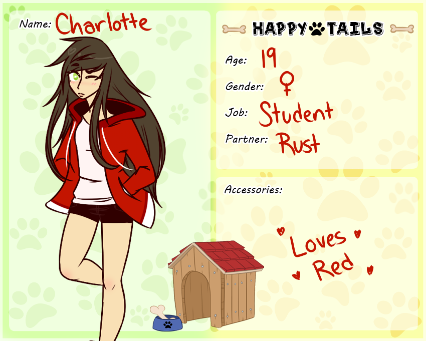 Happy-Tails: Charlotte Application by Trickychan