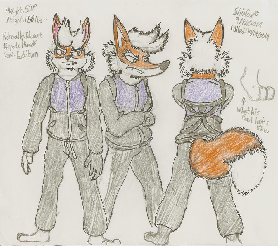 Shinfox Colored Alpha Outfit by MessatsuGouFox
