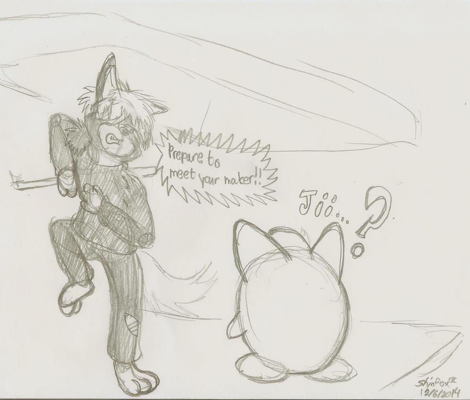 MDW Vs Jigglypuff by MessatsuGouFox