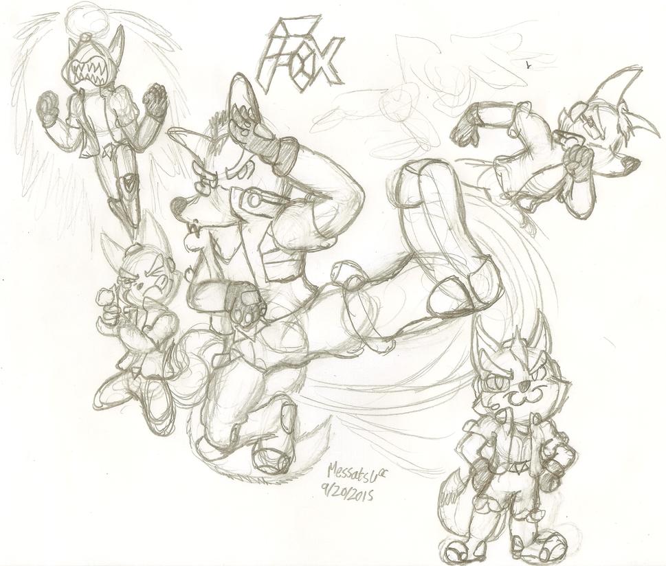 Star Fox Zero Fox Suit Fox by MessatsuGouFox