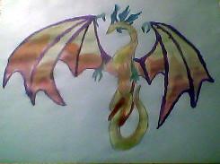 Fire Dragon by PirateHunter4ev