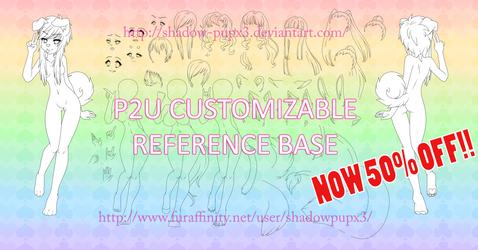 *ON SALE* P2U Customizable Reference Base!