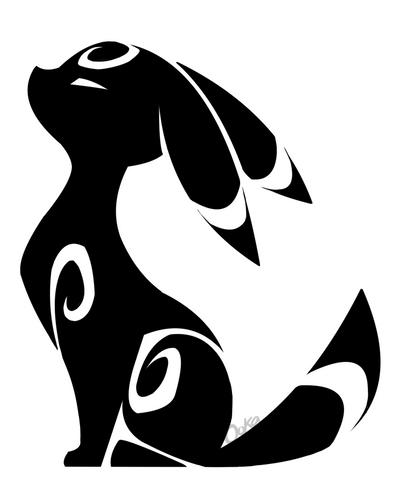 Umbreon tattoo by 0okamiseishin
