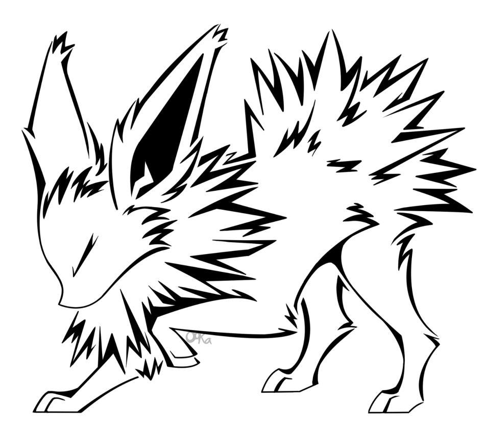 Pokemon Kleurplaten Umbreon Jolteon Tattoo By 0okamiseishin On Deviantart