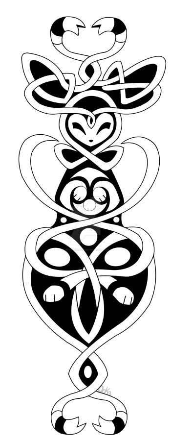 Sylveon Tattoo by 0okamiseishin on DeviantArt  Sylveon Tattoo ...