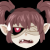 Gabbi Annoyed emoticon by 0okamiseishin