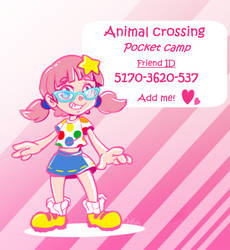 Animal Crossing pocket camp by 0okamiseishin