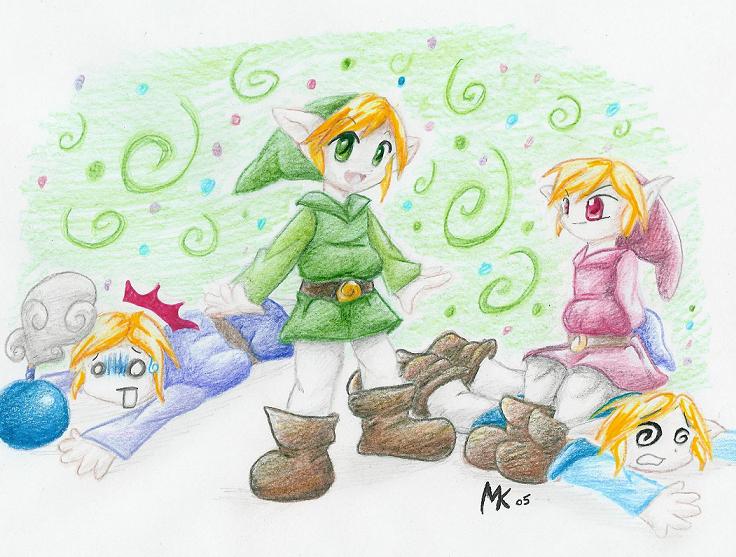 Four Swords by 0okamiseishin
