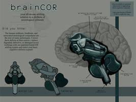 brainCOR Artiforg by derangedhyena