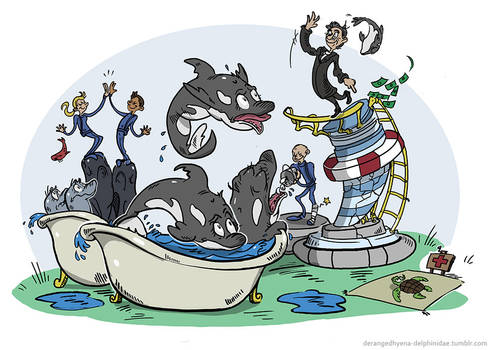 Seaworld 'Cares'