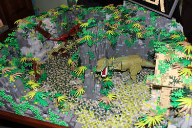 Tomb Raider: Overview featuring T-Rex by JanetVanD