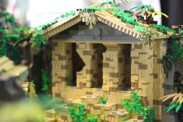 Tomb Raider: Temple Close-Up by JanetVanD