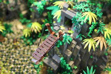 Tomb Raider: Broken Bridge, West Side by JanetVanD