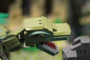 Tomb Raider: T-Rex Close-Up