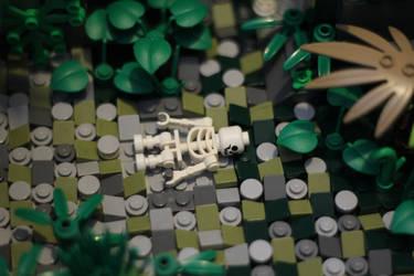 Tomb Raider: Creepy Dead Dude by JanetVanD