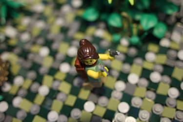 Tomb Raider: LEGO Lara by JanetVanD