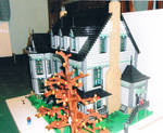 Victorian House: End View