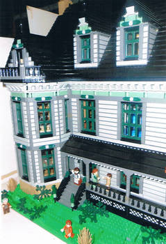 Victorian House: Porch Detail