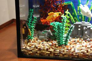 Tropical Aquarium ~ Left-hand Side