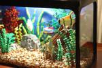 Tropical Aquarium ~ Right-hand Side